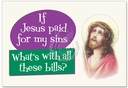 Jesus Paid Card Card