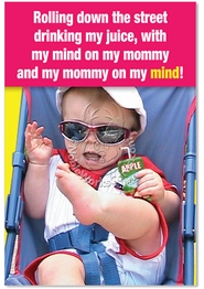 Mommy On My Mind Card