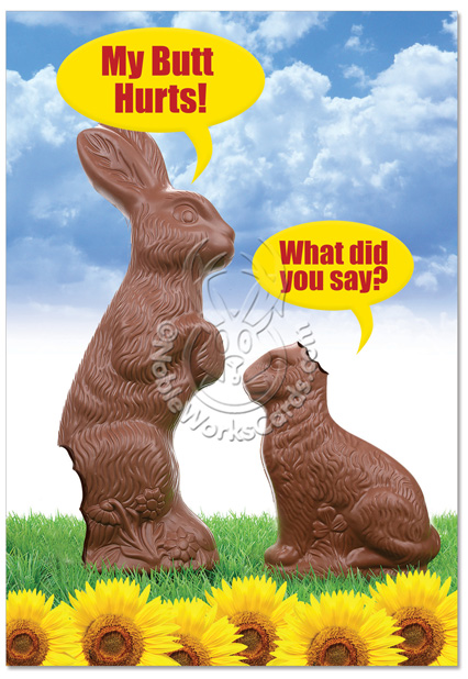 Funny Easter Joke My Butt Hurts 61