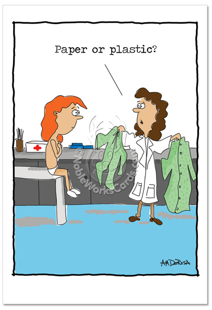 Which is better?paper or plastic?