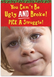 Pick a struggle Card