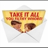 Restaurant Take It All (Blank) Humorous Image Not Greeted Greeting Card Nobleworks image 2