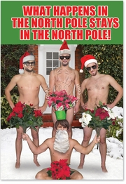 What Happens In The North Pole Card