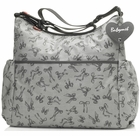 Babymel Slouchy Bow Diaper Bag Grey