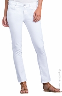Citizens of Humanity Maternity Underbelly Phoebe Crop Jeans White