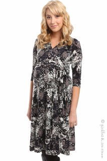 Everly Grey Kaitlyn Shadows Wrap Dress