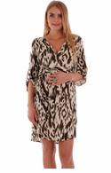Everly Grey Maternity Hudson Ikat Dress