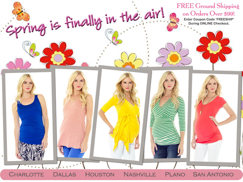 new maternity clothing arrivals