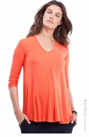 Isabella Oliver Atherton Top Burnt Coral