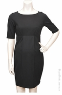 Jules & Jim Maternity Madmen Dress Black