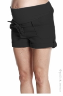Jules & Jim Maternity Comfy Cargo Shorts Black