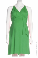 Jules & Jim Maternity Sexy Sundress Green