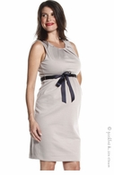 Jules & Jim Maternity Taupe Jackie Dress