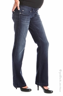 Lilac Maternity Signature Bootcut Denim Medium Wash