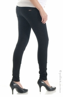 Lilac Maternity 5 Pocket Ponte Black Jeans
