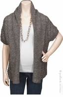 Rene Maternity Dolman Sweater Cardigan Grey