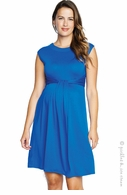 Maternal America Simple Cascade Royal Blue Dress