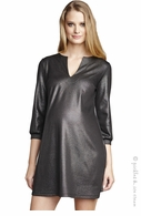 Maternal America Sleek Lurex Shift Dress