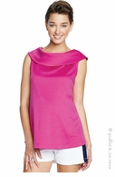 Maternal America Hot Pink Jackie Top