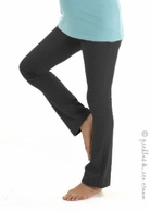 Mothers en Vogue Foldover Yoga Pants Black