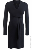 Noppies Undine Collar Dress Navy- Final Sale