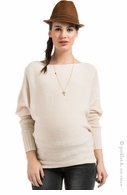 Noppies Maternity Ivory Camilla Sweater - Final Sale