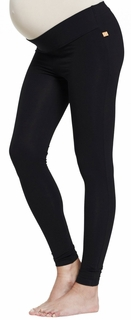 Maternity Clothes: Noppies Amsterdam Leggings Black - Click to enlarge