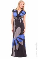 Olian Tanjia Geo Maxi Dress