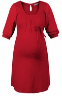 Queen Mum Maternity Red Glamour Dress
