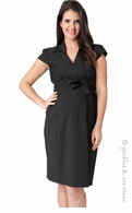 Ripe Maternity Black Career Dress