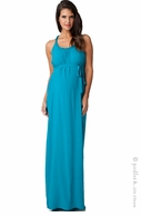 Ripe Maternity Serena Aqua Maxi Dress