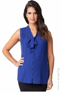 Ripe Maternity Royal Blue Genevieve Top