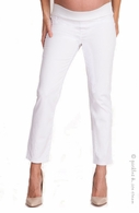 Seraphine Hazel Crop Pants White