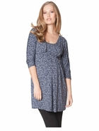 Seraphine Maternity Mara Leopard Crossover Tunic - Final Sale