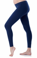 Seraphine Maternity Tammy Bamboo Leggings Navy