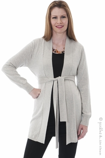 Maternity Clothes: Sono Vaso Prato Cardy Grey - Final Sale  - Click to enlarge