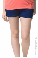 Camomile Maternity Short Shorts Cobalt Blue - Final Sale
