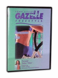 Gazelle Freestyle Awesome Abs DVD + FREE SHIPPING