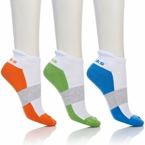 Tony Little Cheeks® (3) Pack Cushioned Low Cut Socks - FREE SHIPPING