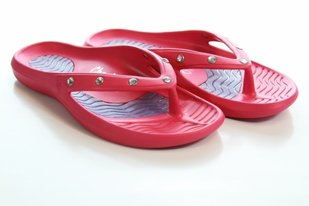 Tony Little's Cheeks� Bling Sandals with Rhinestones