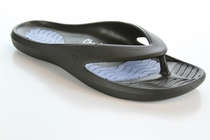 Tony Little's Cheeks® Men's Health Sandals with Full Gel Bed
