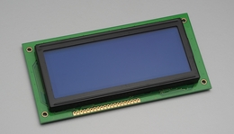 192x64 Graphic LCD Display Module (Blue)
