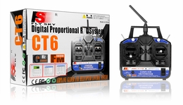 2.4G CT6B 6-Channel Transmitter+Receiver (R6B) (Complete Radio System for RC Helicopter+Airplane)