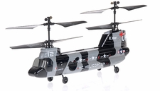 2.4Ghz Esky Tandem Rotor 4CH RC Chinook Helicopter Camo
