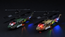 2 New JXD 353 Air Raptor Infrared RC Micro Battle Helicopter 3 Channel RTF