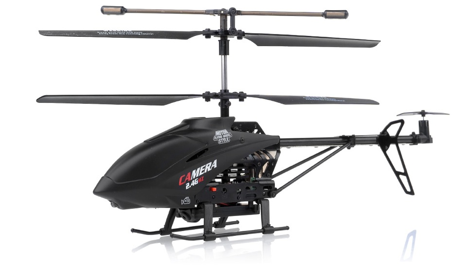 Remote Control Helicopter With Video Camera 3-Channel RC Helicopter UDI