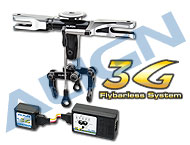 450 PRO 3G Programmable Flybarless System H45110