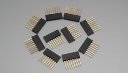 "8 pin 1"" Tall Female Stackable Header (10pcs)"
