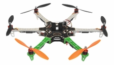 AeroSky 550 Drone RC 6 Channel Hexacopter Almost Ready to Fly (Green)