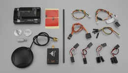 AeroSky APM 2.5 Flight Controller Board with GPS Upgrade Kit for AeroSky C6 Quadcopter RC Remote Control Radio